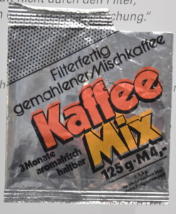Ersatzkaffeemischung aus der DDR