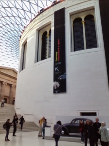 VW beetle car in British Museum