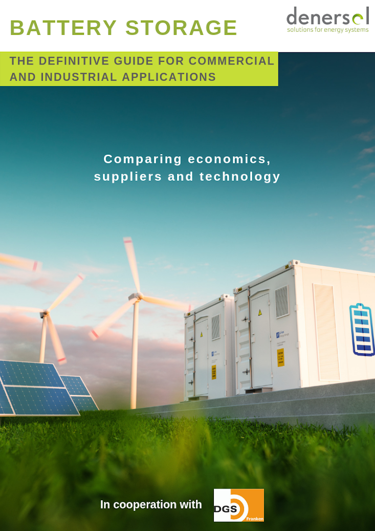 Battery Storage Guide book cover