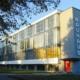 Bauhaus school building in Dessau