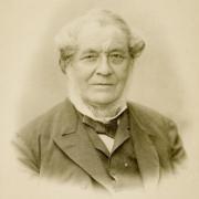Photo of scientist Robert Bunsen