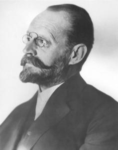 Photo of scientist Auer von Welsbach